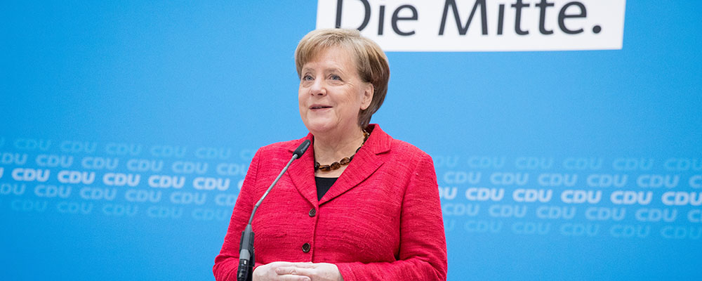 Angela Merkel am 5. März 2018 in Berlin