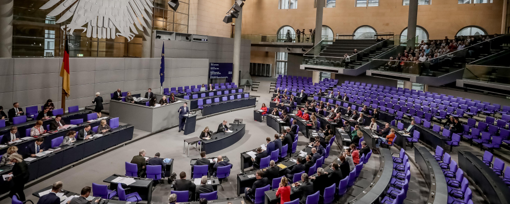 Plenum Deutscher Bundestag