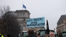 Bauerndemo | 26. November 2019 am Brandenburger Tor