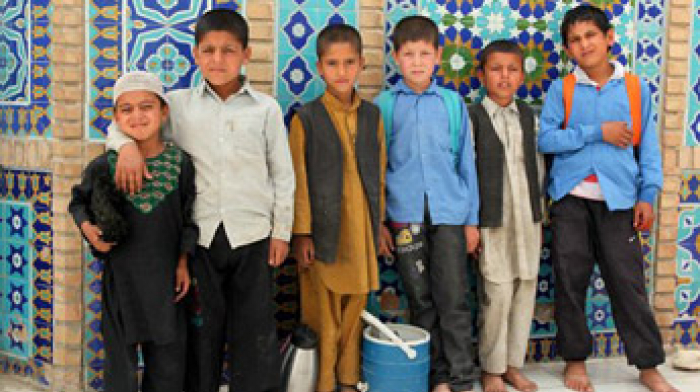 Kinder in Afghanistan, Foto: Christian Thiel