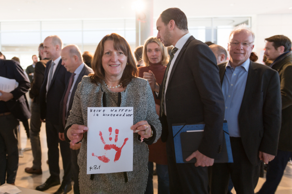 Red Hand Day 2019	- Heike Brehmer